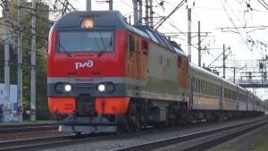 В состав поезда включены комфортабельные вагоны категории СВ и купе.