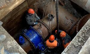 Сразу две новые задвижки установили специалисты РКС-Самара на крупных водоводах