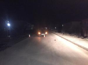 В Самарской области водитель в темноте на дороге сбил женщину