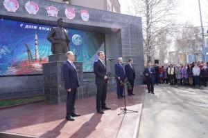Дмитрий Азаров поздравил коллектив легендарного самарского РКЦ Прогресс с Днем космонавтики