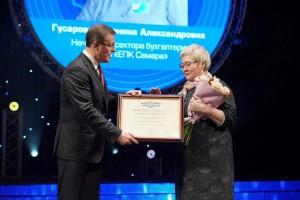 Награды заслуженным представителям профессии вручил глава регионаДмитрий Азаров.