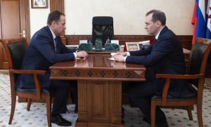 Игорь Комаровобсудил социально-экономическое развитие региона с врио главы Мордовии Артёмом Здуновым.