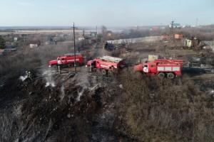 Для ликвидации пожара привлечены 38 человек, 14 едиництехники.