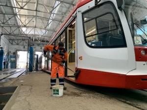 Самарские трамваи будут тщательней мыть