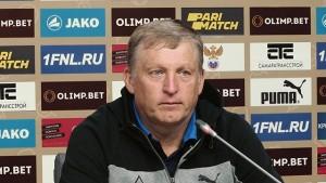 Игорь Осинькин: Тяжелый матч получился, несмотря на счет