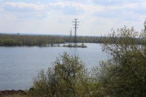19 апреля сбросные расходы Куйбышевского гидроузла составят 8000±300 куб.м/с