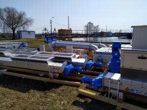 На городские очистные канализационные сооружения доставлено оборудование, которое будет установлено в рамках реализации инвестиционной программы.