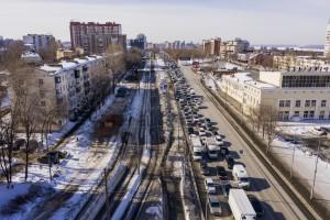 По информации регионального минтранса временное перекрытие движения улицы Ново-Садовая (по основному ходу), будет организовано в 4 этапа.