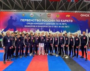 В Омске состоялось первенство России по каратэ (участники 14-20 лет).