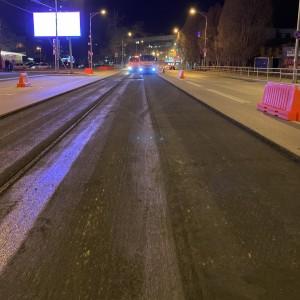 На Московском шоссе в Самаре началифрезероватьверхнийслойдорожного покрытия