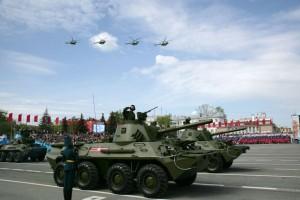 Жители и гости Самары при строгом соблюдении масочного режима смогут посетить выставку военной техники, участвующей в параде 9 Мая.