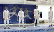 В командном турнире шпажистов сборная Самарской областизавоевала бронзу