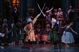 Золотую маску получил спектакль Самарского академического театра оперы и балета Бахчисарайский фонтан»