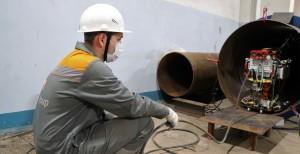 В Самаре робот, отыскивающий дефекты теплосетей, прошел тестирование в «боевых условиях»