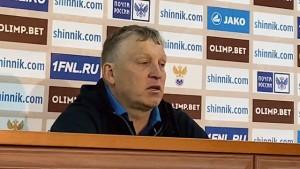 Послематчевая пресс-конференция Игоря Осинькина.