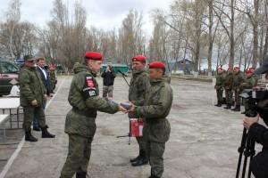 В Самарской области наградили победителей конкурса среди военной полиции ЦВО «Страж порядка»