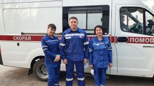 Активисты ОНФ Самарской области отметили День работника скорой помощи «в полях»