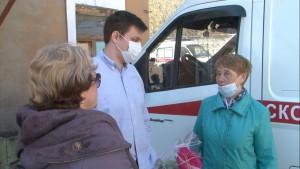 По пути в больницу упациента случилась остановка сердца.