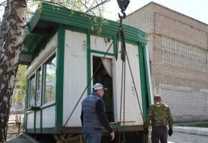 В Самаре демонтировали торговый павильон на ул. Советской Армии