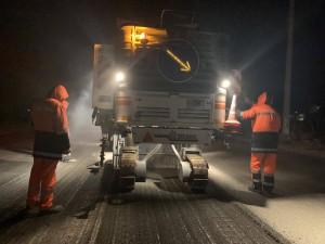 В Самаре на Ракитовском шоссе  началось обновление дороги на всю ширину проезжей части
