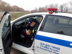 ГИБДД Самарской области на регулярной основе осуществляют скрытое патрулирование»