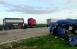 """На 535-м километре автодороги """"Астрахань – Ставрополь"""" столкнулись три автомобиля, в том числе грузовик и автобус, который вез детей на соревнования из Волгограда вЧеркесск."""