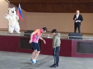 Первомай в Струковском парке открыли экстремальные виды спорта и интеллектуальная битва студенческих команд.