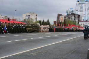 На репетиции Парада Победы в Самаре зрителей не пустят