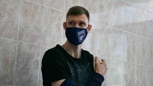 """Волейболист """"Новы"""" призвал спортсменов защитить близких от коронавируса"""