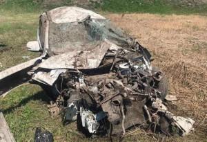 Водительне справился с рулевым управлением.