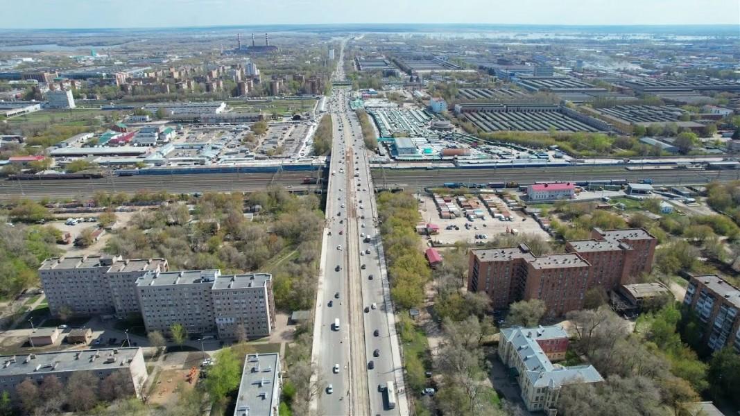 В Самаре начался ремонт Кировского моста