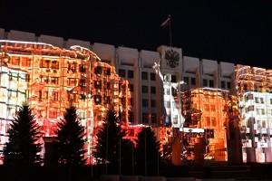 Он вновь будет проецироваться на здание Правительства Самарской области.