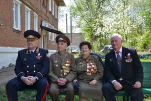 В Самаре росгвардейцы провели персональные парады для ветеранов и участников Великой Отечественной войны