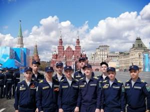 Воспитанники кадетских корпусов ПФО посетили генеральную репетицию Парада Победы в Москве