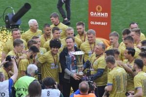 «Крылья Советов» стали обладателями кубка Первенства ФНЛ.