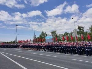 На площади Куйбышева в Самаре парад Победы готов к открытию