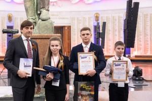 Церемония награждения победителейсостоялась вмосковском Музее Победы 8 мая