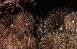 В небо было выпущено почти в два раза больше фейерверков, чем в предыдущие годы.