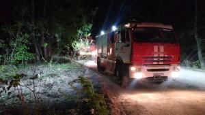 В Самаре горел сухогруз на реке Сок