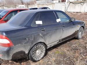 У тольяттинки арестовали LADA Priora за неоплаченные штрафы ГИБДД