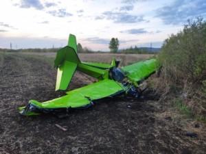 Житель Самарской области разбился на легкомоторном самолете в Татарстане