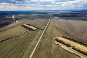 В Самарском регионе ведутся дорожные работы на стокилометровом участке новой магистрали «Европа – Западный Китай»