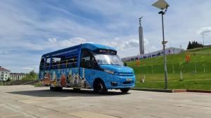 У здания самарского речного вокзала состоится презентация единственного в городе сервиса экскурсионных автобусов-кабриолетов «Поехали!».