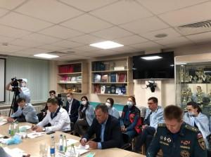 Игорь Комаров прибыл в Казань в связи с трагедией, произошедшей в школе №175.