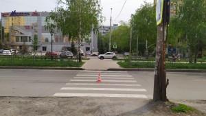 В Самаре на Революционной водитель сбил женщину-пешехода