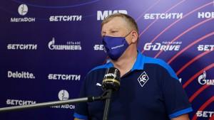 Игорь Осинькин: Мы не выиграли, но не стыдно