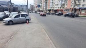 В Самаре водитель сбил велосипедиста