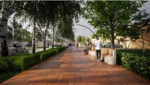 Сейчас проектировщики запустили онлайн анкетирование и до 20 мая предлагают жителям оценить готовое архитектурное решение по благоустройству улицы.
