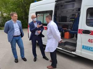 Николай Ренц об обновлении парка «скорых» в регионах: по инициативе президента жители Тольятти смогут получать оперативную помощь