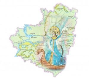 НеобычнаякартаРоссииобъединилаинформацию о местах возможного рождения героев сказок, легенд и былин.